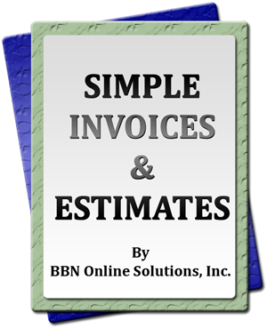 Simple Invoices & Estimates By BBN Online Solutions, Inc.